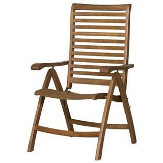 Polohovacia stolička HOLSTEIN eukalyptus