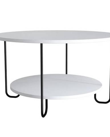 Konferenčný stolík CORRO biela