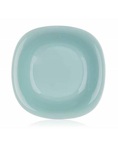 Luminarc Hranatý hlboký tanier CARINE 21 cm, 6 ks, tyrkysová