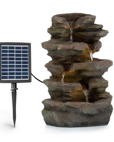 Blumfeldt Stonehenge, solárna fontána, LED osvetlenie, polyresin, lítiovo-iónový akumulátor
