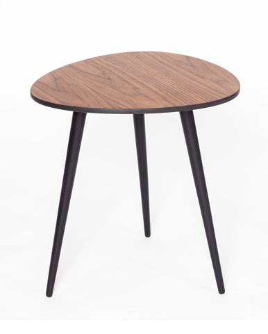 Odkladací stolík s čiernymi nohami Ragaba Pawi Pick, 42 x 39 cm