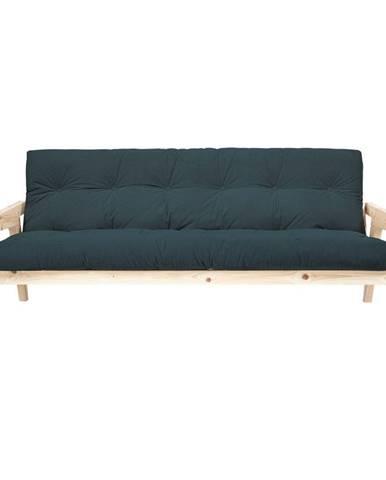 Menčestrová variabilná pohovka Karup Design Grab Raw/Pale Blue