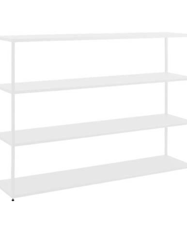 Biela kovová knižnica Custom Form Hyller, výška 110 cm