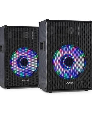 "Fenton TL15LED, pár 3-cestných pasívnych reproduktorov, RGB-LED, 15"" Woofer, 800 W tweeter"