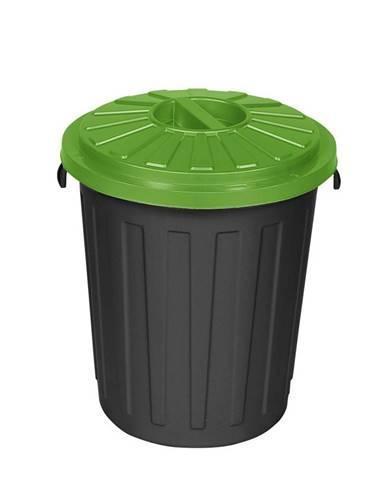 Plastový odpadkový kôš Mattis 45 l, zelená