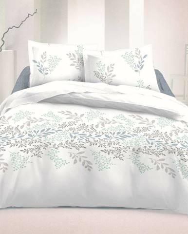 Kvalitex Bavlnené obliečky Victoria biela, 220 x 200 cm, 2 ks 70 x 90 cm