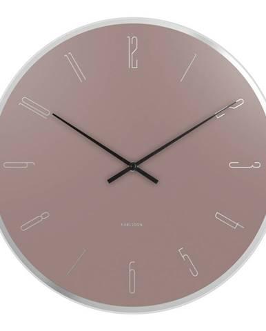 Karllson 5800PI dizajnové nástenné hodiny, pr. 40 cm