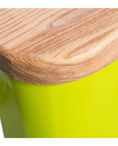 ArtD Barová stolička Paris 75cm Drevená-Jaseň zelená