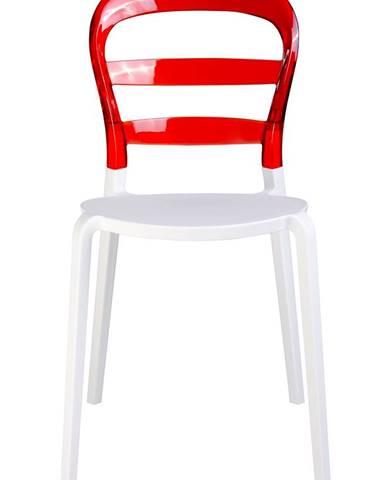 ArtKing Jedálenská stolička CARMEN červená