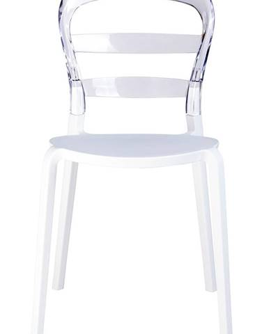 ArtKing Jedálenská stolička  CARMEN transparent