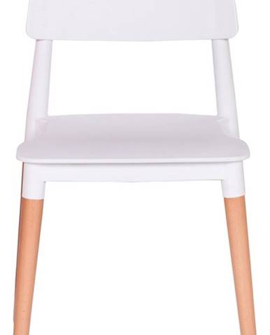 ArtKing Jedálenská stolička ECCO PREMIUM biela