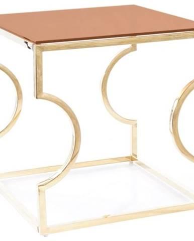 Signal Konferenčný stolík KENZO B zlatý