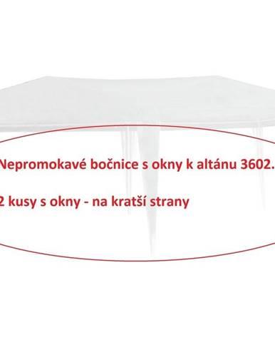 ArtRoja Bočnice k altánku 3602 - 2ks s oknami - BIELE