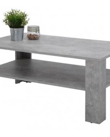 Konferenčný stolík Luca, šedý beton%
