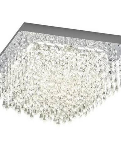LED STROPNÁ LAMPA, 40 cm - chrómová