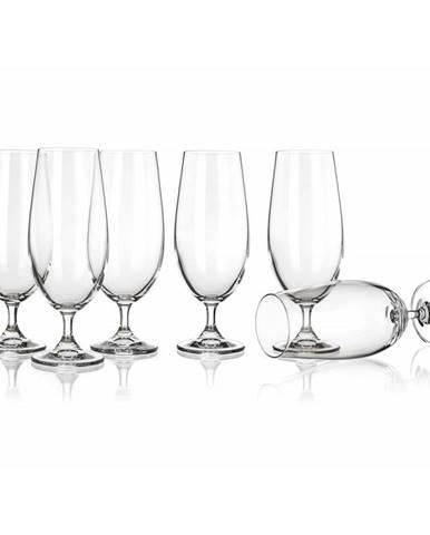 Banquet 6-dielna sada pohárov na pivo LEONA 370 ml