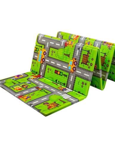 Multifunkčná skladacia hracia podložka PlayTo Cesta