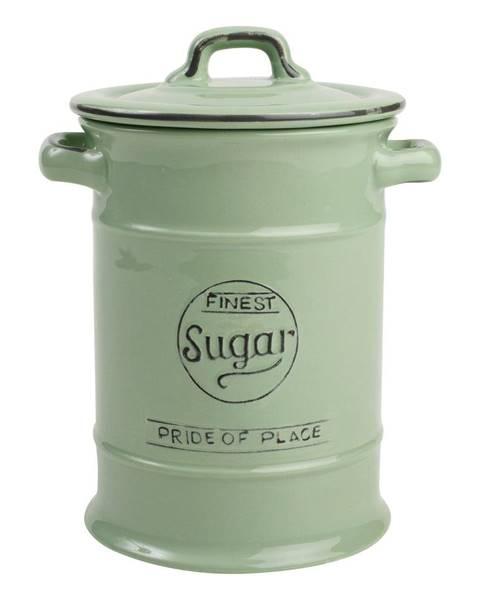 T&G Woodware Zelená keramická dóza na cukor T&G Woodware Pride of Place, 1,25 l