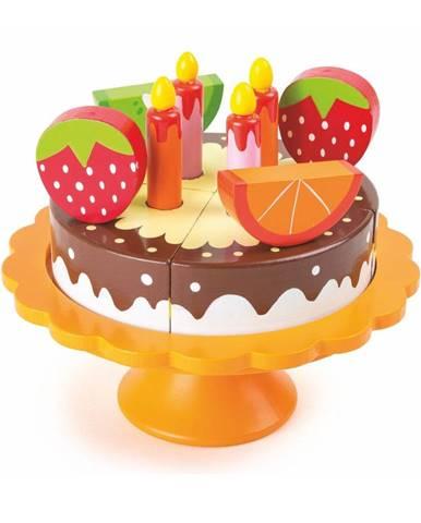 Drevená narodeninová torta na hranie Legler