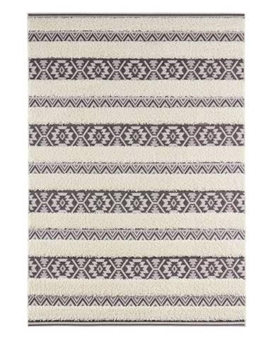 Krémovočierny koberec Mint Rugs Temara, 80 x 150 cm