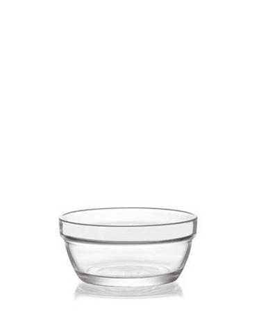 Miska kompótová MASTER, 250 ml, číra, sklo, 6ks sada