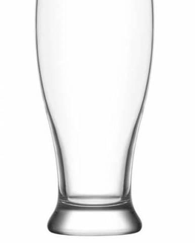 Pohár na pivo BROTTO, 565 ml, číry, sklo, 6ks sada