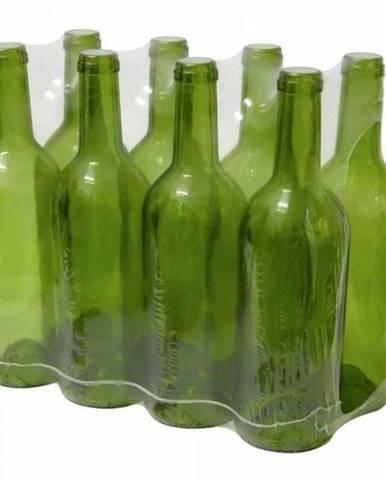 Sklenená fľaša na víno 750 ml, zelená