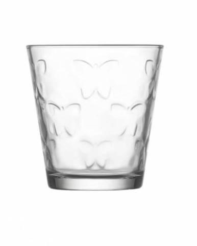 Pohár na vodu, 255 ml, KELEBEK číry, sklo, 6ks sada