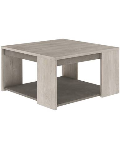 Konferenčný stolík ANTIBES dub/béžový betón