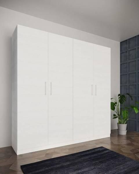 OKAY nábytok Šatníková skriňa Paluda - 205x204x52 cm