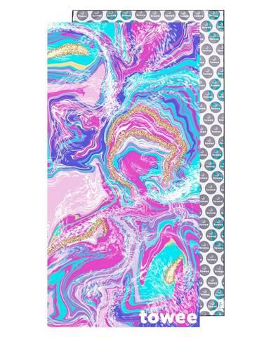 Towee rýchloschnúca osuška MARBLE, 80 x 160 cm