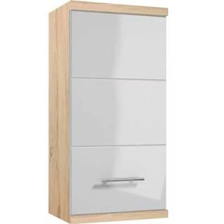 Závesná kúpeľňová skrinka Bari A35 1D0S dub sonoma