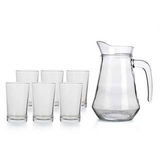 Set džbánu + 6 pohárov SUPER VALUE