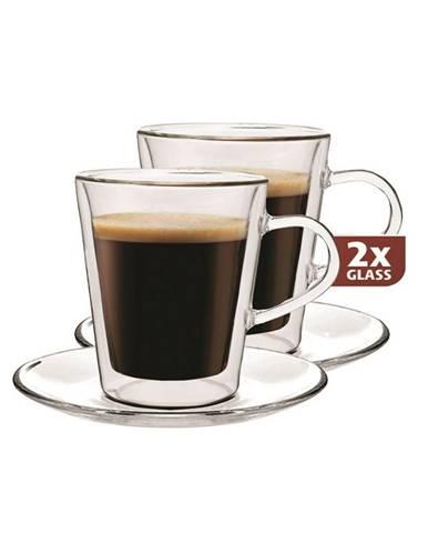 Maxxo Lungo 2dílná sada termo skleniček, 220 ml