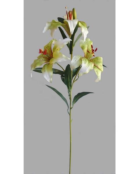 4Home Umelá kvetina Ľalia, biela