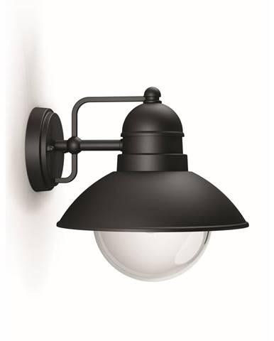 Philips 17237/30/PN Hoverfly Vonkajšie nástené svietidlo 24 cm, čierna