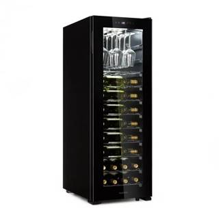 Klarstein Bellevin 62, vinotéka, 56 fliaš, 5 - 20 °C, trieda energetickej účinnosti A, čierna