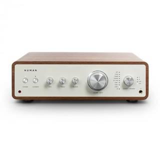 Numan Drive Digital, stereo zosilňovač, 2x170W/4x85W RMS, AUX/Phono/koaxial, orech