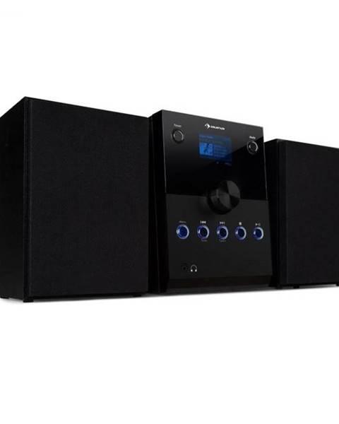 Auna Auna MC-30, DAB mikrosystém, 2 reproduktory, DAB+, FM, bluetooth, CD prehrávač, čierny