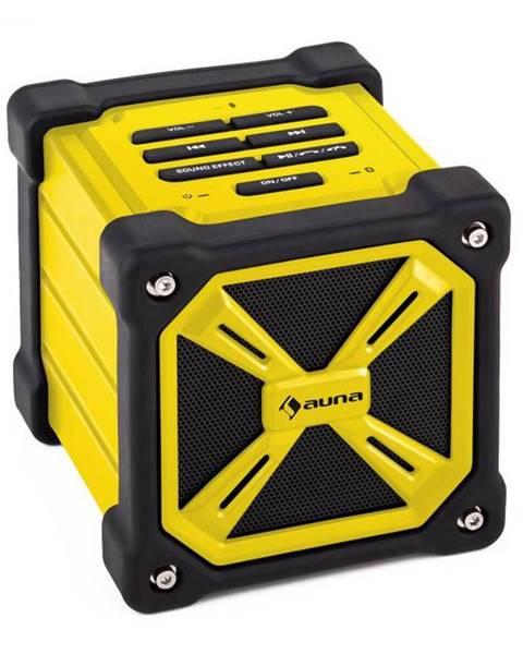 Auna Auna TRK-861, bluetooth reproduktor, batéria, žltý