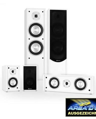 Auna 5.0 zvukový systém k domácemu kinu Linie-300-WH, biely
