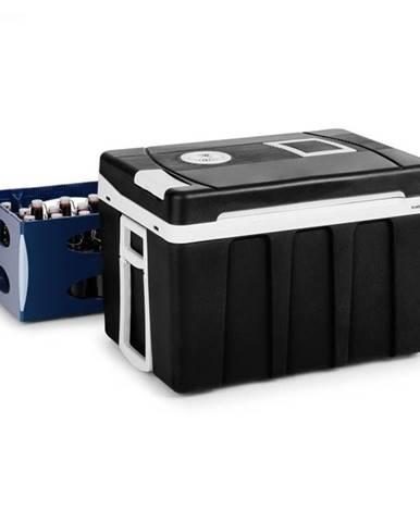 Klarstein BeerPacker, termoelektrický chladiaci box s funkciou udržania tepla, 50 l, A+++, AC/DC, vozík, čierny