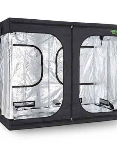 OneConcept Eden Grow XL, pestovateľský box, domáce pestovanie, interiérový, 240 x 120 x 200 cm