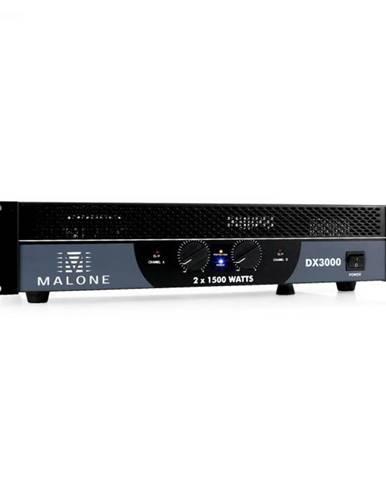 Malone DX3000, 3000 W, premostiteľný, PA zosilňovač
