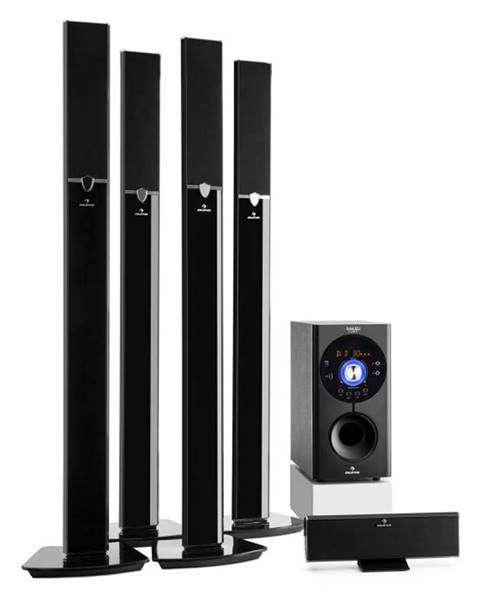 Auna Auna Areal 653 5.1-kanálový surround systém 145W RMS bluetooth USB SD AUX