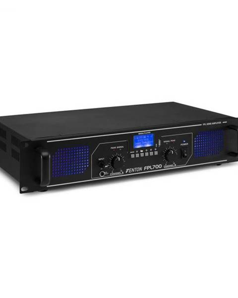 Fenton Fenton FPL700, digitálny zosilňovač, 2 x 350 W, BT, prehrávač médií, USB port, SD slot