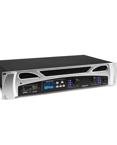 Vonyx FPA300, PA-zosilňovač, 2 x 150 W, BT funkcia, Mediaplayer, LED, USB, SD
