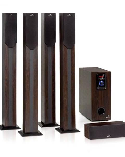 Auna Auna Areal Elegance, 5.1-kanálový systém, 190 W, RMS, BT, USB, SD, AUX
