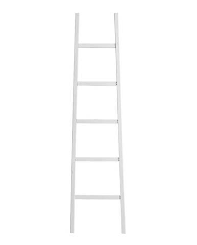 Biely dekoratívny rebrík Tomasucci Carl