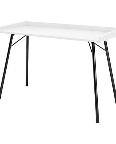 Biely pracovný stôl Woodman Rayburn